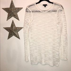 J. Crew Lightweight Creamy Ivory Spring Sweater